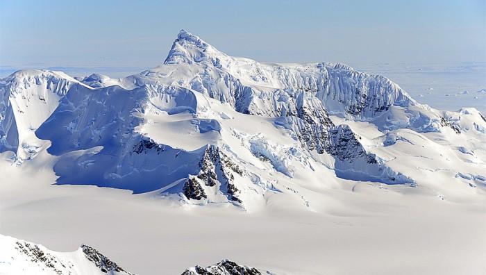 Antarctica's Alexander Mountains